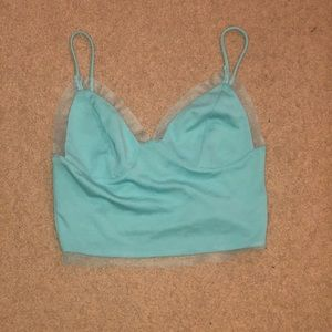 Blue urban outfitters tank top